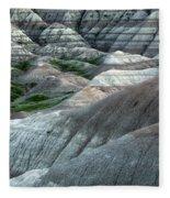 Badlands National Park South Dakota 2 Fleece Blanket
