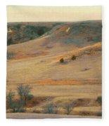 Badlands Prairie Reverie Fleece Blanket