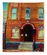 Bagg Street Synagogue Fleece Blanket