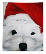 Bah Humbug Fleece Blanket