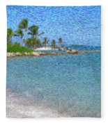 Bahamas II Fleece Blanket