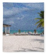 Bahamas Fleece Blanket
