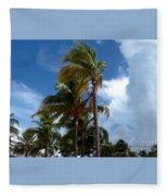 Bahamian Breeze Fleece Blanket