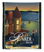 Baker House Endless Sunset Fleece Blanket