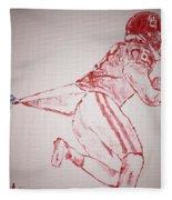 Baker Mayfield Fleece Blanket