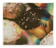 Bakers Cupcake Delight Fleece Blanket
