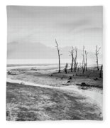 Bako National Park At Low Tide. Fleece Blanket