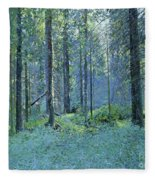 Balaam.thick Of The Forest Fleece Blanket