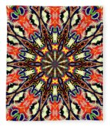 Balance Mandala  Fleece Blanket