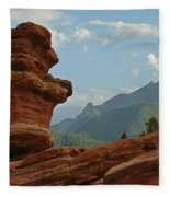 Balanced Rock Fleece Blanket