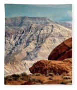 Balancing Rock Fleece Blanket