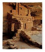 Balcony House, Mesa Verde Np, Co Fleece Blanket