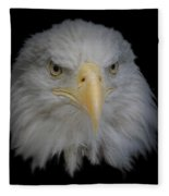Bald Eagle 1 Fleece Blanket