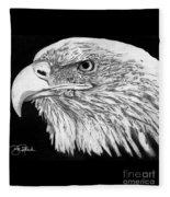 Bald Eagle #4 Fleece Blanket