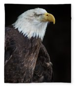 Bald Eagle Intensity Fleece Blanket