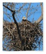 Bald Eagle Lookout  3661 Fleece Blanket