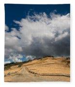 Bald Hills In Summer 2 Fleece Blanket