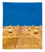 Bales On The Storm Fleece Blanket
