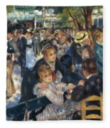 Ball At The Moulin De La Galette 1876 Fleece Blanket