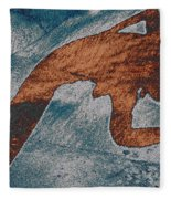 Ballarina I Fleece Blanket