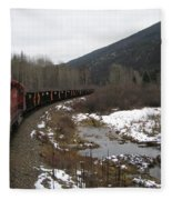 Ballast Train Fleece Blanket
