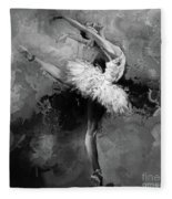 Ballerina 09912 Fleece Blanket