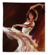 Ballet Dance 0706  Fleece Blanket
