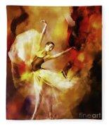 Ballet Dance 3390 Fleece Blanket