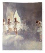 Ballet Studio  Fleece Blanket