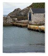 Ballintoy Quayside Fleece Blanket