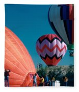 Ballon Launch Fleece Blanket