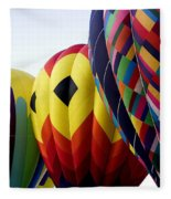 Balloon Color Fleece Blanket