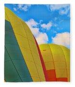 Balloon Fantasy 25 Fleece Blanket