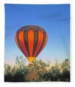 Balloon Launch Fleece Blanket