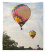 Balloon Race Fleece Blanket