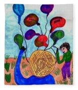 Balloon Sales Fleece Blanket