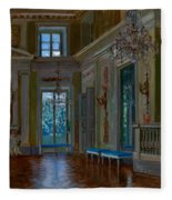 Ballroom Of The Lazienki Palace Fleece Blanket