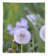 Balls Of Seed Fleece Blanket