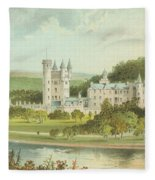 Balmoral Castle, Scotland Fleece Blanket