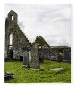 Balnakeil Church Fleece Blanket