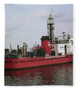 Baltimore Fire Boat 2003 Fleece Blanket