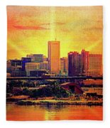 Baltimore Horizon Fleece Blanket