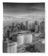Baltimore Landscape - Bromo Seltzer Arts Tower Fleece Blanket