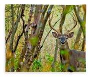 Bambi's Father Fleece Blanket