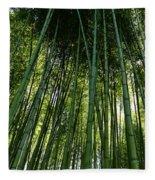 Bamboo 01 Fleece Blanket