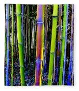 Bamboo Dreams #13 Fleece Blanket