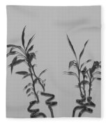 Bamboo Shutes Fleece Blanket