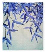 Bamboo Susurration Fleece Blanket by Priska Wettstein