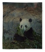 Bamboo Thats For Dinner Fleece Blanket