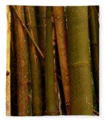 Bambusa Vulgaris Fleece Blanket